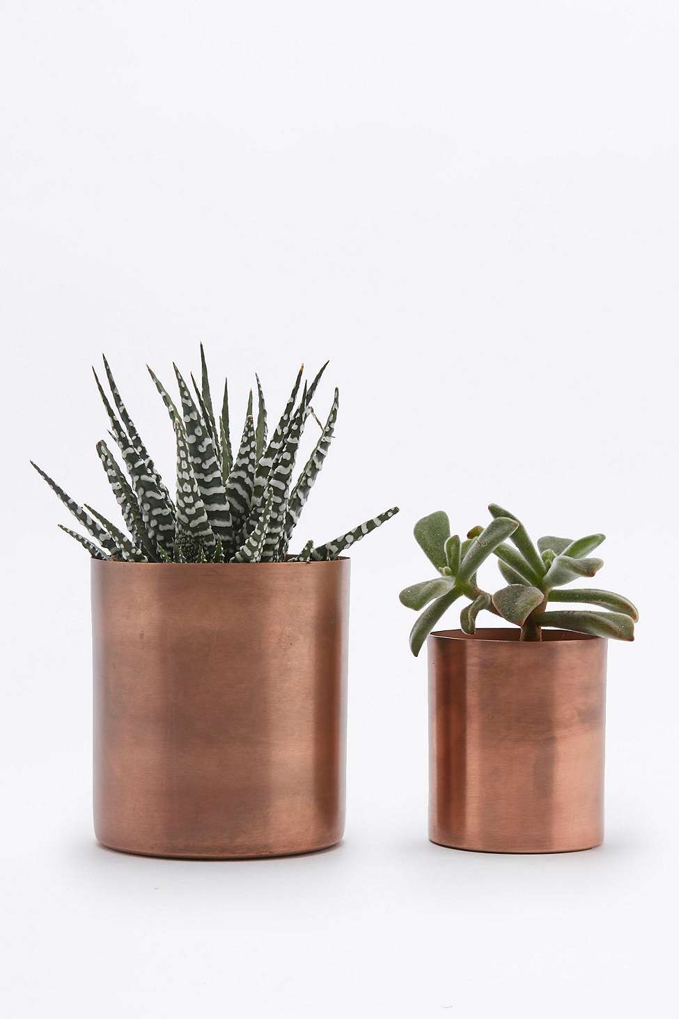 copper planter pots, urban outfitters