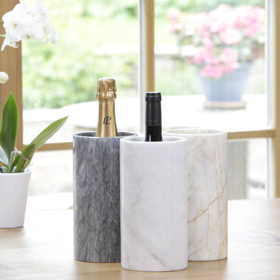 Hand Crafted Marble Wine Cooler by MARBLETREE €46.60 Not On The High Street