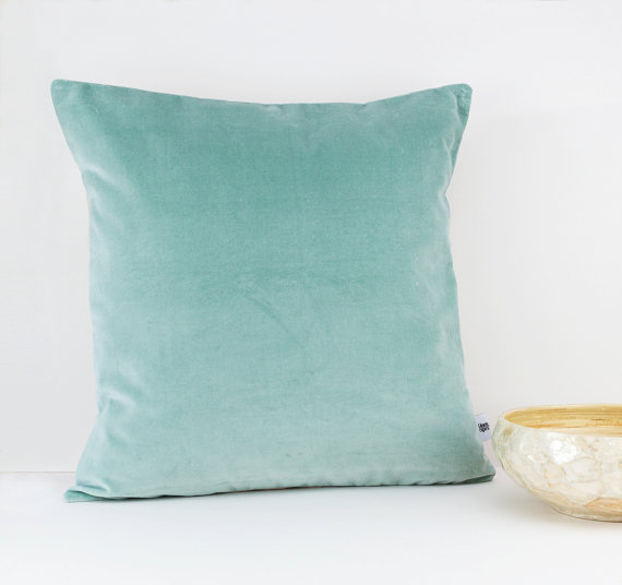 Mint Velvet Throw Pillow Etsy