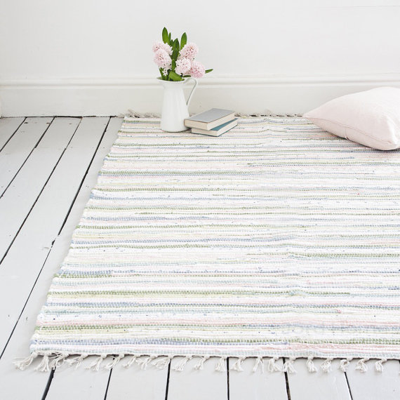 The Agna Rug, Jord Home on Etsy, €41.51+ Handwoven