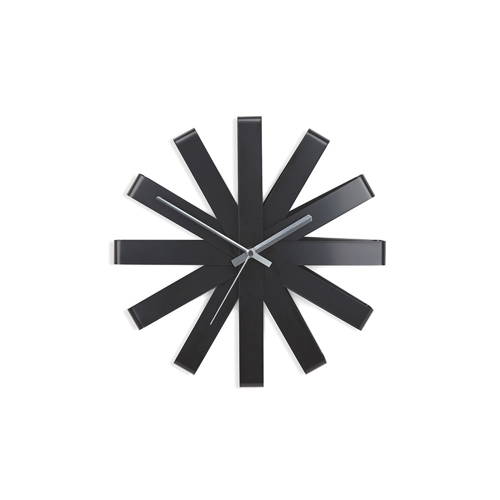 ribbon-wall-clock-black-386077