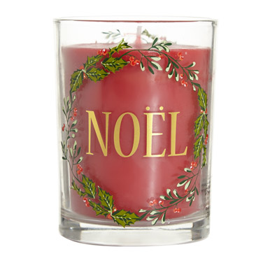 Christmas candle dunnes stores