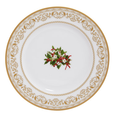 Christmas plate dunnes stores