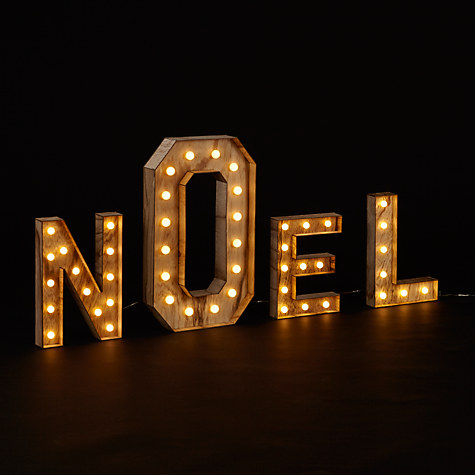john lewis christmas noel light