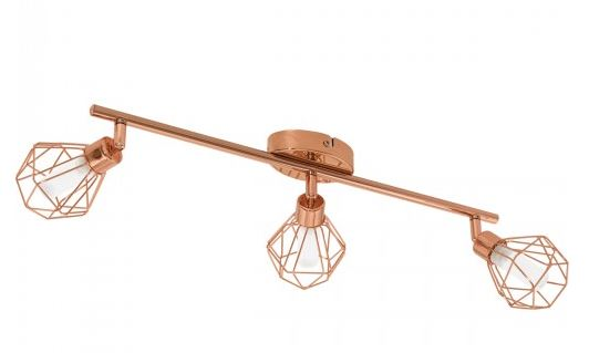 copper spotlight dining room lighting ceiling