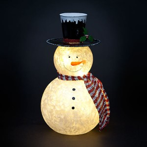 fantasy christmas lights snowman