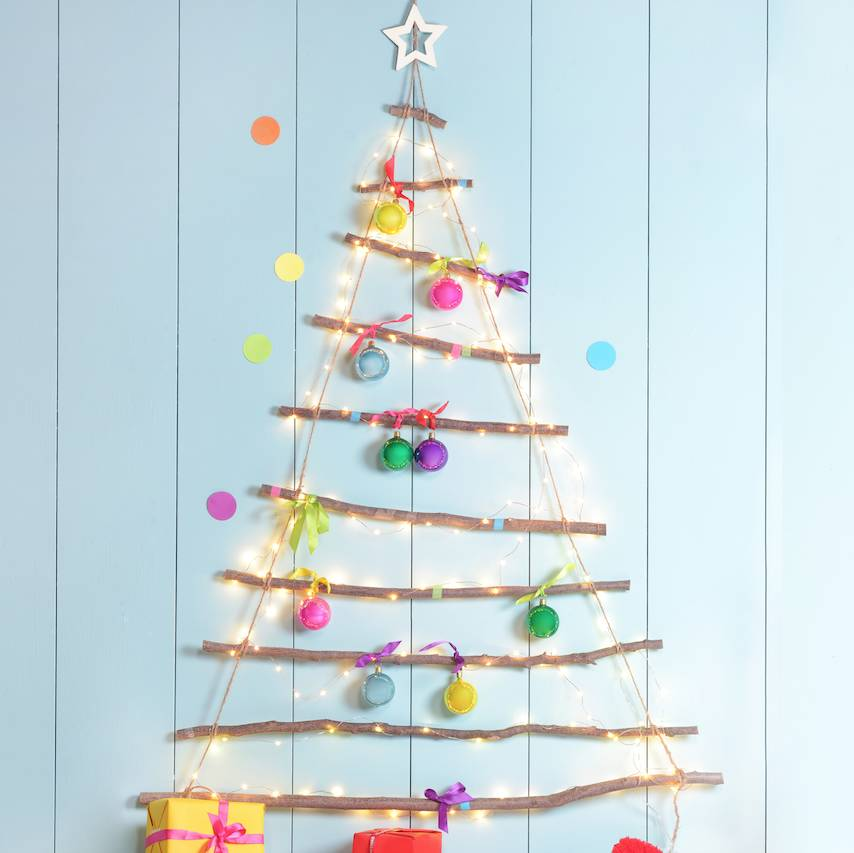 christmas tree ladder