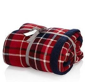 Christmas throw blanket marks and spencer