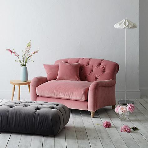 sofa john lewis velvet