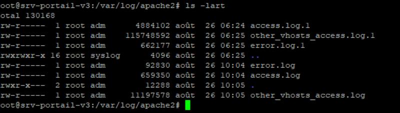 Trier les fichiers Linux avec la commande ls lart