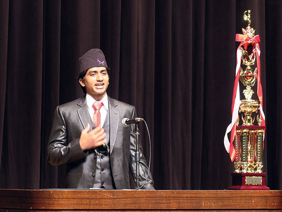 Speech competitions
