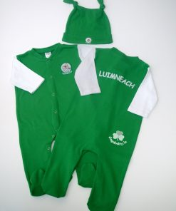 GagaBaby Limerick GAA Babygro and Hat Set