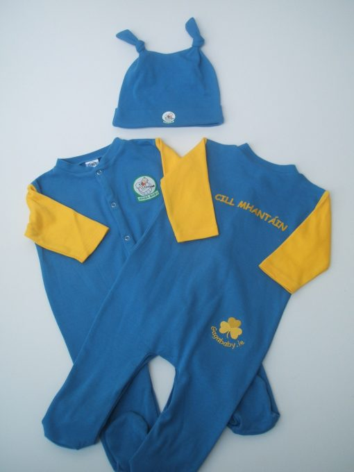 GagaBaby Wicklow GAA Babygro and Hat Set