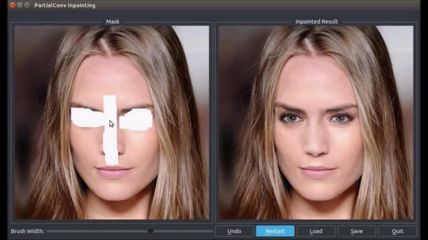 Nvidia показала искусственный интеллект, который может дорабатывать изображения
