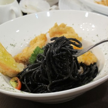 Black Squid Ink Spaghetti 88K