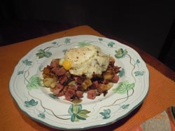 Post St. Paddy's Day Corned Beef Hash Recipe