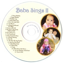 Customize a Music CD for a Child's Birthday