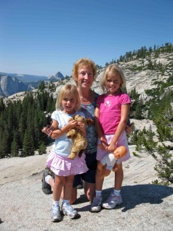 Grandma Shares Camping Adventure with Granddaughters