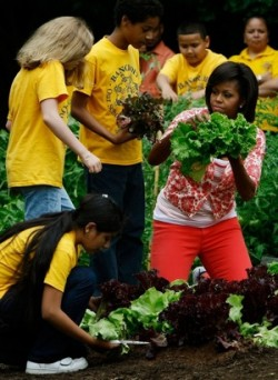 Michelle Obama Wants to Break the Cycle of Poor Nutrition