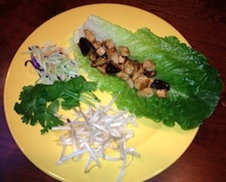 Meatless Monday Recipe – Tofu Lettuce Cups