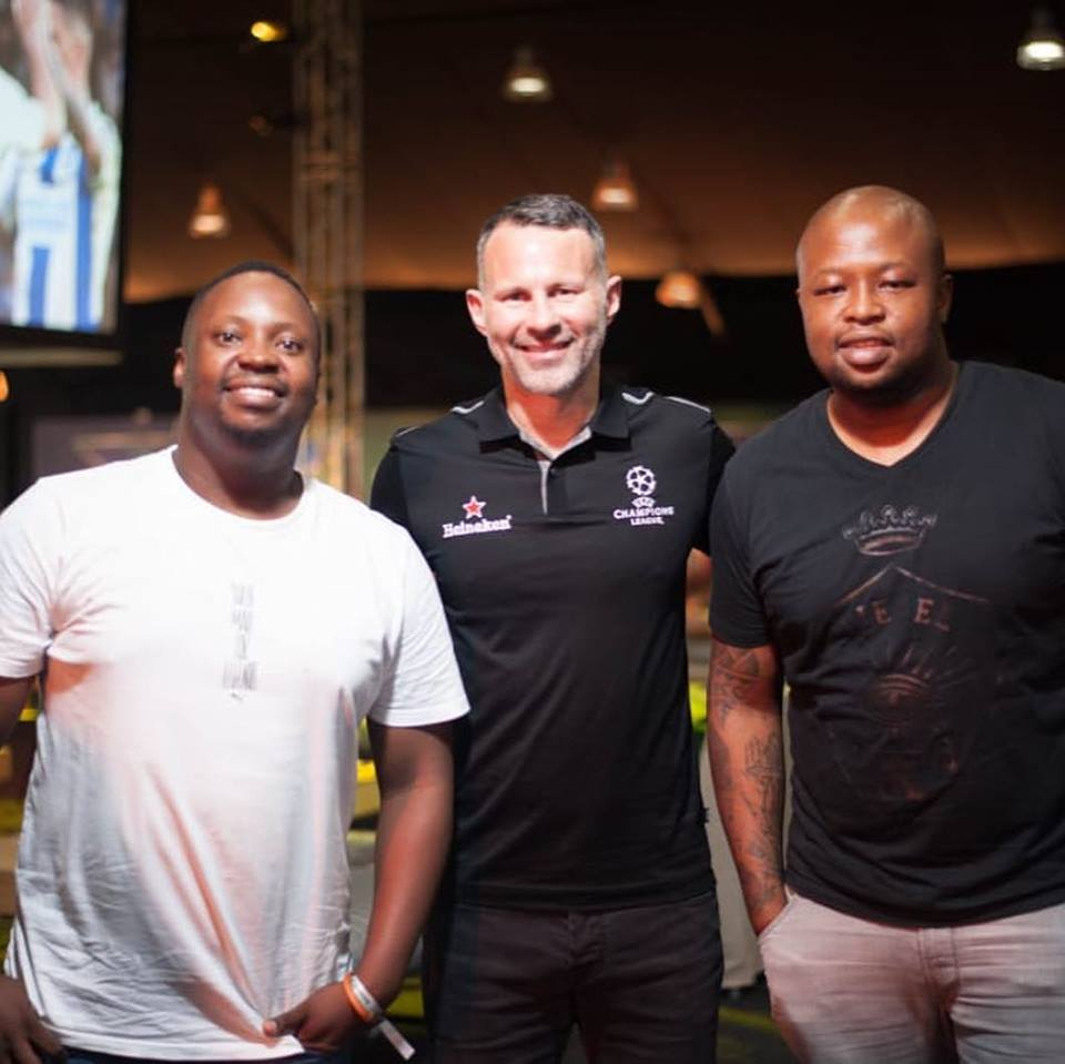 SPHEctacula & DJ Naves with Ryan Giggs