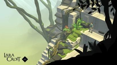 Efter succesen med Hitman Go, får vi også en PS4 version af Lara Croft Go og det er ude på storen med det samme.