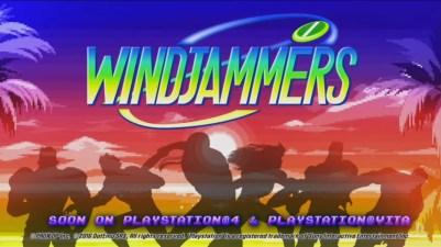 Lad os takke Giant Bomb for denne genudgivelse af Windjammers. Gad vide hvad det betyder for Disc Jam, spillet som blev annonceret på E3 og er et tydeligt ripoff af Windjammers.