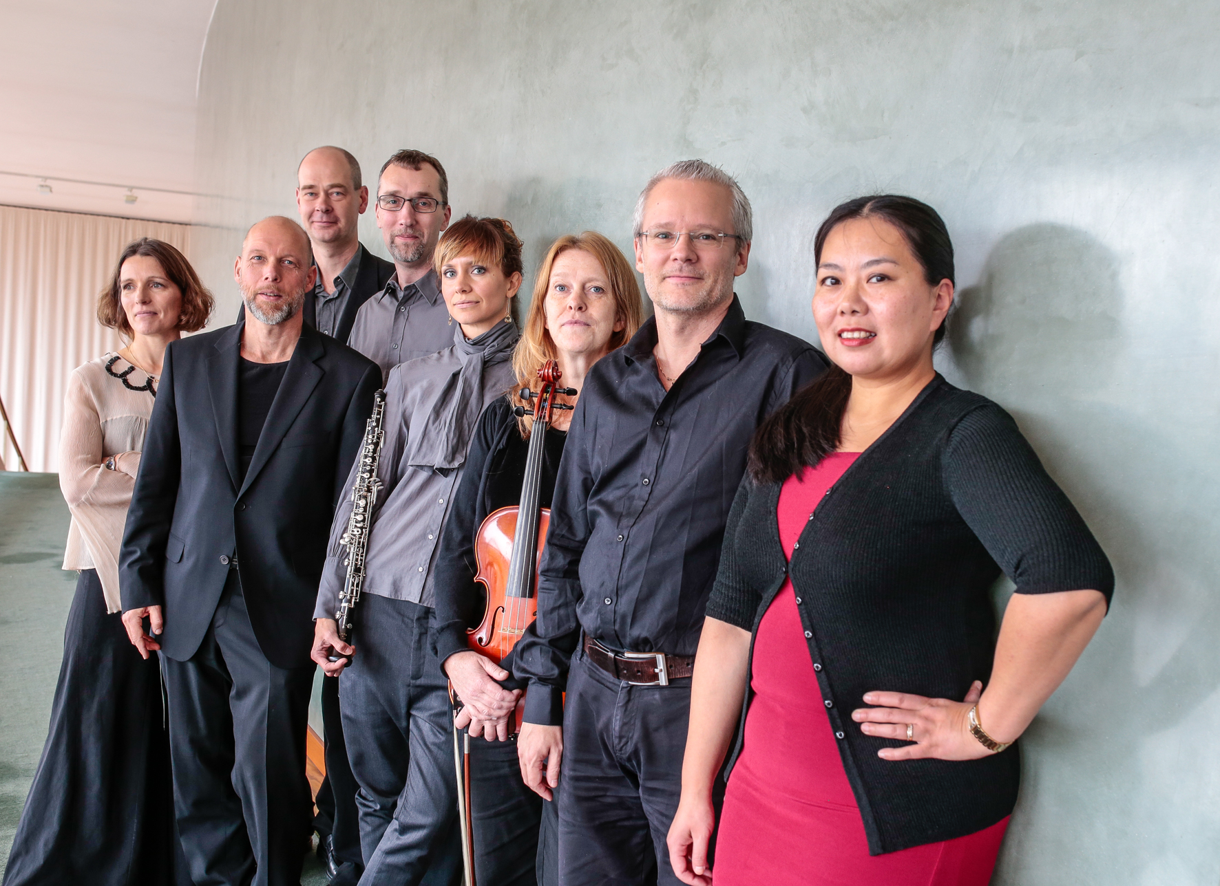 2015: Ensemblen Gageego! i Göteborgs konserthus. Foto: Johan Stern