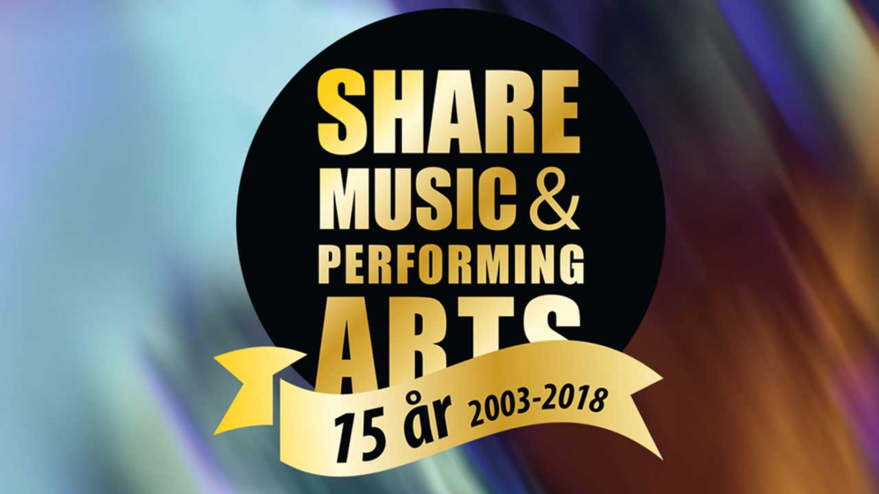 ShareMusic 75 år 2003-2018