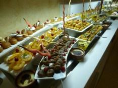 Feigen Pfirsiche Kuchen