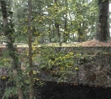 Teil der Burgruine