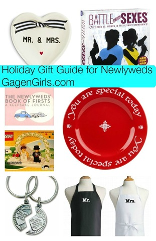 Holiday Gift Guides for Newlyweds