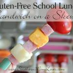 Sandwich on a Skewer {12 Days of School Lunches}