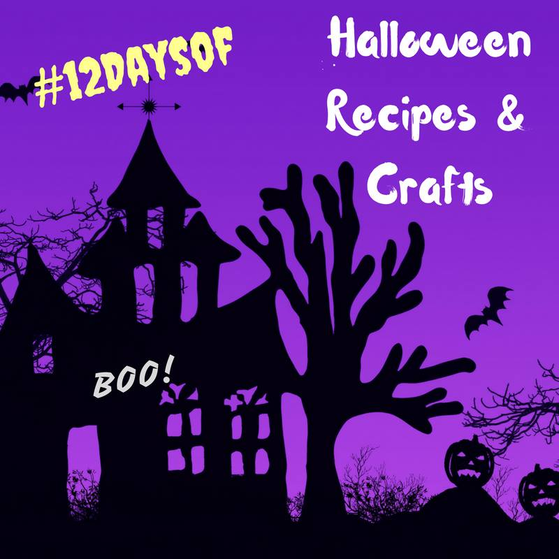 Check out the #12DaysOf Halloween Recipes at Crafts @ GagenGirls.com