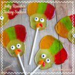 Jolly Rancher Turkey Suckers {12 Days of Thanksgiving}