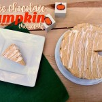 White Chocolate Pumpkin Cheesecake {12 Days of Thanksgiving}