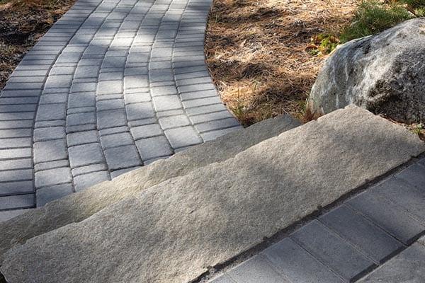 Irregular Granite Steps