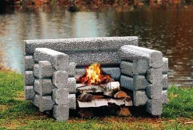 4 Logger Firepit