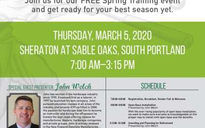 2020 Gagne & Son Spring Training Event