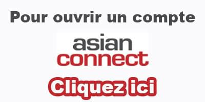 asian connect comment creer un compte