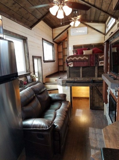 Adorable Cabin Style Ideas For Small House 12