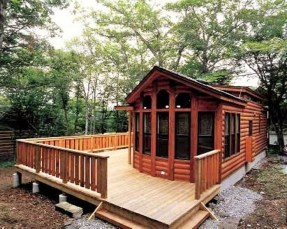 Adorable Cabin Style Ideas For Small House 18
