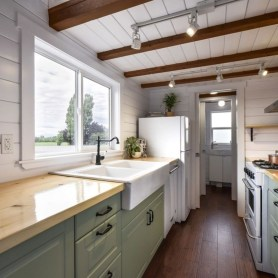 Adorable Cabin Style Ideas For Small House 32