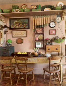 Affordable English Country Kitchen Decor Ideas 08