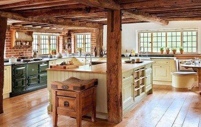 Affordable English Country Kitchen Decor Ideas 11