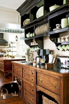 Affordable English Country Kitchen Decor Ideas 18