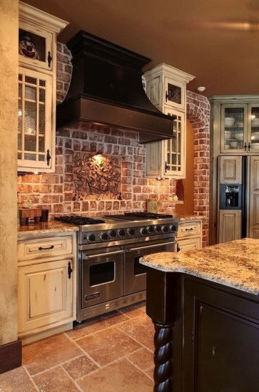 Affordable English Country Kitchen Decor Ideas 27