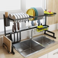 Beautiful Dish Rack Ideas For Your Small Kitchen 05