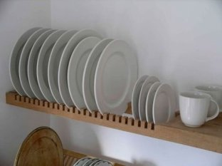 Beautiful Dish Rack Ideas For Your Small Kitchen 15