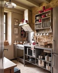 Beautiful Dish Rack Ideas For Your Small Kitchen 16
